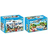 Playmobil - Pack Le Parc Aquatic n°2 - 2 Références - 6671 - 6672
