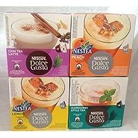 Nescafé Dolce Gusto Tea lovers Juego, té, bebidas calientes, 64Cápsulas/56porciones