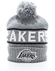 Casquette Mitchell & Ness – Tricot Cuff Rec Nba Los Angeles Lakers Gris Osfa
