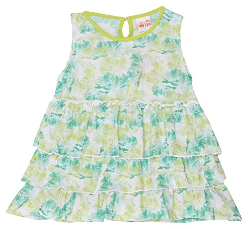 Fs Mini Klub Girls' A-line Dress(Green, 9-10 Years)  available at amazon for Rs.223
