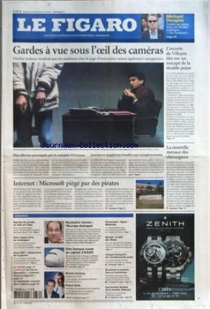 FIGARO (LE) [No 19307] du 30/08/2006 - MICHAEL DOU...