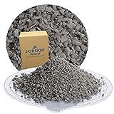 25 kg Pflastersplitt 0-5 mm aus Diabas Edelsplitt von Schicker Mineral für eine stabile, drainagefähige Pflasterbettung