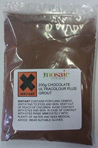 Joint pour mosaïque 200 g coloris Chocolat