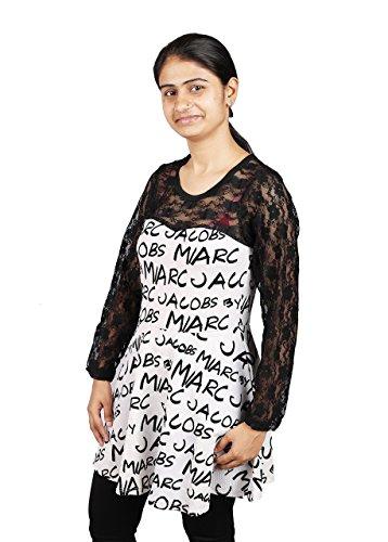 Fashion Adda Women's frowk net top