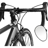 VORCOOL Specchietti retrovisore da bicicletta e moto per manubrio 360 gradi regolabile 2PCS