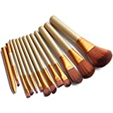 Generic Naked3 Foundation Brush - Set of 12