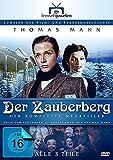 Thomas Mann: Der Zauberberg - Der komplette 3-Teiler (Langfassung) (Fernsehjuwelen) [4 DVDs] -