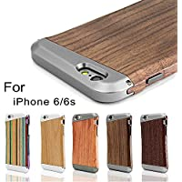 [Fine Finish] iPhone 6/6s Legno Custodia, LEAPCOVER®