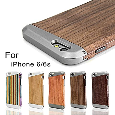 [Fine Finish] iPhone 6 6s Holz-Hülle für