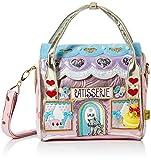 Irregular Choice Womens Le Cafe Du Chat Top-Handle Bag Multicolour (Purple Multi)