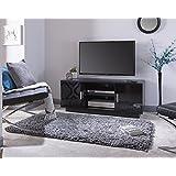Lima Hochglanz Plasma TV Ständer Schrank Entertainment Einheit geeignet bis 139,7cm