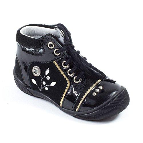Catimini Cyrine, Chaussures de ville fille Noir