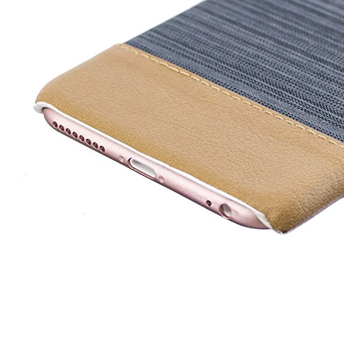Apple iPhone 6/6S 4.7 Coque, Voguecase Rigide Plastique Shell Housse Coque Étui Case Cover(Voile Séries-Bleu foncé)de Gratuit stylet l'écran aléatoire universelle Voile Séries-Vert foncé
