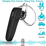 #5: Amore Bluetooth Headset With Mic For Samsung, Motorola, Sony, Oneplus, HTC, Lenovo, Nokia, Asus, Lg, Coolpad, Xiaomi, Micromax and All Android Mobiles Bluetooth Headphones With Mic