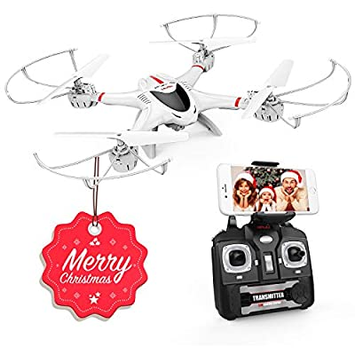 MJX X400 W WiFi FPV Drone with Camera Headless Mode 3D Car Flip 3D Quadrocopter RC Drone for Beginners to Practice