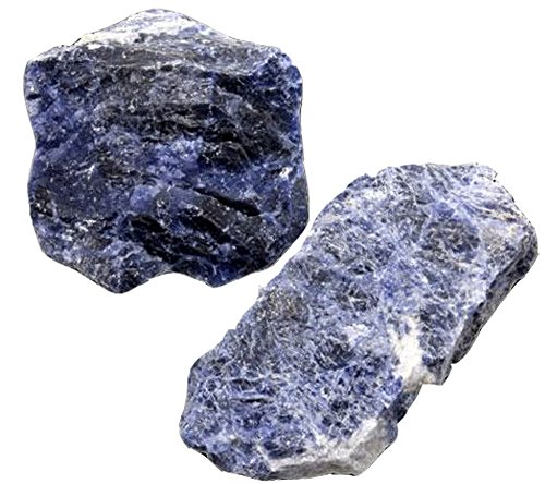 SODALITH geologisch (1 Stück) Größe ca. 3 - 4 cm (Bolivien Gem)