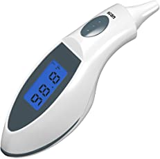Technomart Infrared Digital Non-Contact Ear Thermometer Body/Adult Temperature Monitor