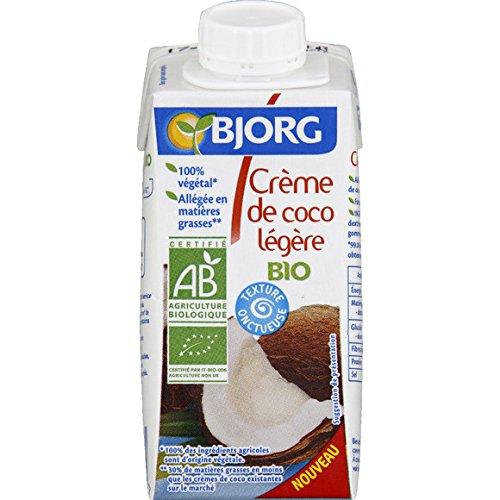 bjorg Crème coco légère bio ( Prix unitaire ) - Envoi Rapide Et Soignée