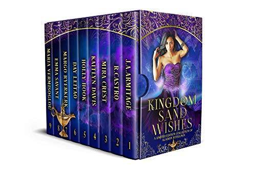 Kingdom of Sand and Wishes: A limited edition of Aladdin retellings (English Edition)