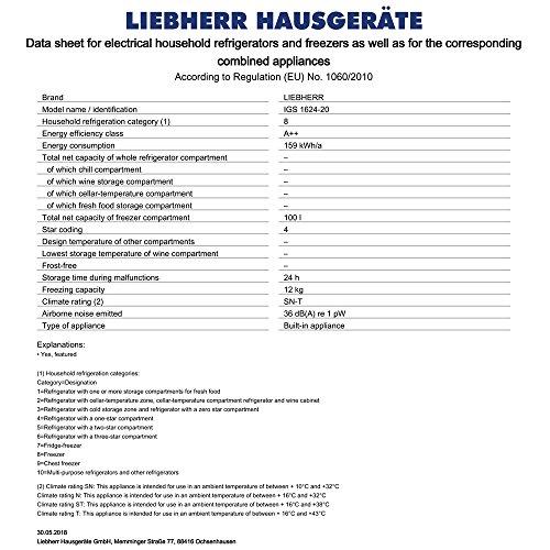 Liebherr IGS 1624 - 6