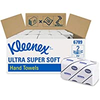 Kleenex Ultra Hand Towels 15 Packs x 186 Towels Interfold Small White