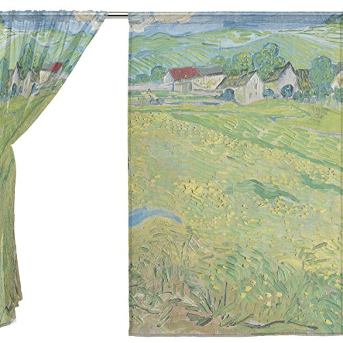 jstel-2-pieces-en-tulle-voile-fenetre-chambre-decoration-rideau-semi-transparent-peinture-huile-van-