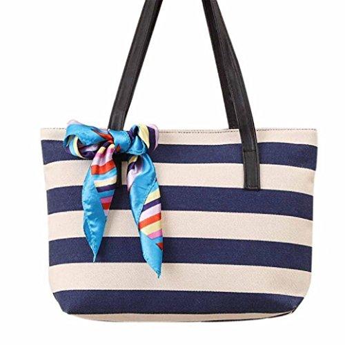 fami-femmes-mode-toile-stripe-echarpe-en-soie-sac-a-main-depaule-casual-bag-classique-bleu-fonce