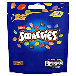 Smarties Chocolate Sharing Bag, 118g (Pack of 8) (B07BB79NVF) | Amazon price tracker / tracking, Amazon price history charts, Amazon price watches, Amazon price drop alerts