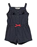 #10: Beebay Infant-girl 100% Cotton Heart Print Jumpsuit (Navy,3-6 Months)