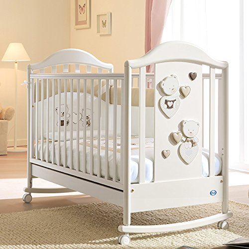 Pali Kinderbett Celine Baby weiß