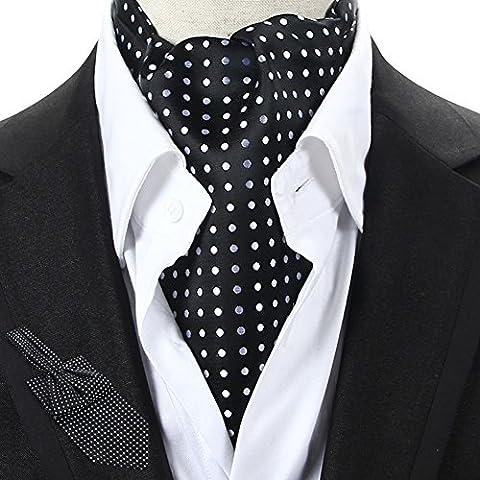 Uomini adatti e sciarpe sciarpa double face cravatta
