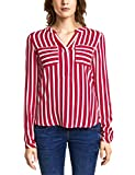 Street One Damen Bluse 341149 Mona, Mehrfarbig (Pure Red 21496), 38