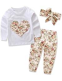 85ec3eb5fb7 Ropa Bebe Niña Invierno Otoño de 0 a 24 meses SMARTLADY Bebé Niñas  Camisetas de manga