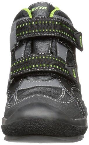 Geox J ATTACK WPF A J3443A0CE11C0016 Jungen Sneaker Schwarz (BLACK/GREEN C0016)