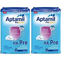 Aptamil ProExpert HA PRE, Hypoallergene Anfangsmilch, EazyPack, 2er Pack (2 x 800g)