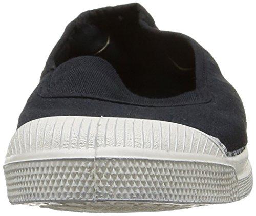 Bensimon Tennis Elastique, Damen Sneakers Schwarz (carbone 835)