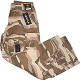 Sir Benni Miles Cargo Pant Hose Khaki /Camouflage 104328 Größe W28 / Bundumfang ca. 70cm / Hosenlänge ca. 107