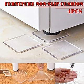 Dvfeel 4 Stk Waschmaschine Kühlschrank Stuhl Kissen Stoßfest Pad Büromöbel Anti Slip Pad