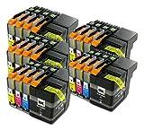 The Ink Squid 5set di LC129x L/LC125X L Brother compatibile Non-OEM cartucce di inchiostro per il fratello mfc-j6520ddw MFC-J6720DW mfc-6920dw stampanti