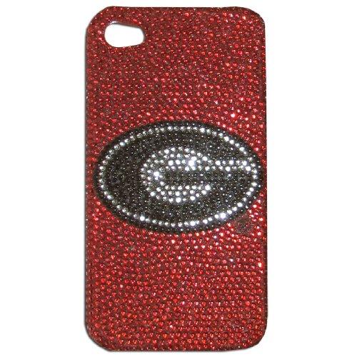 Rubber Case Cover Faceplate (Siskiyou NCAA Georgia Bulldogs Glitz 4G iPhone Faceplate)