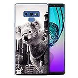 Stuff4 Coque Gel TPU de Coque Samsung Galaxy Note 9/N960 / Roi Koala...