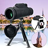 For Iphone SE 5S 5C 5 4S 4 3GS : 4in1Telescope Universal Clip Aluminum Tripod Night Vision Camera Lens Monocular