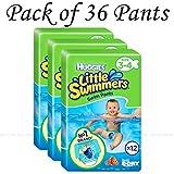 Huggies Little Swimmers Swim Pants couches Taille 3-4bébé 7-15kg Jumbo Lot de 36