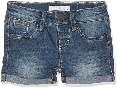 NAME IT Nittada Slim Dnm Nmt Noos, Shorts para Niñas