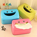 #3: Sellify Pink : Cute Home Car Tissue Case Box Container Towel Napkin Papers Bag Holder Box Case Pouch