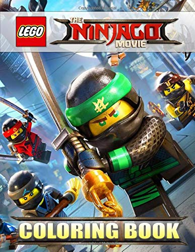 The LEGO NINJAGO Movie Coloring Book: Coloring Books for Kids Ages 4-8 (exclusive illustrations)