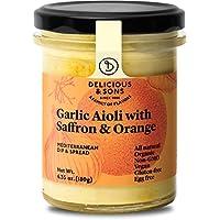 Delicious & Sons Alioli con Azafrán y Naranja Ecológico 180g