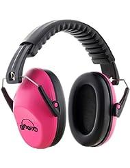 Casque Anti bruit Enfant, Fnova Manchons d'oreille Ear Protection avec NRR 26dB, Casque de réduction du Bruit Protection Auditive, Certifié par ANSI S3.19