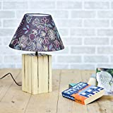Casa Décor Intertwined Wood Blocks Indoor Lighting / Home Decorative Items / Night Lamp / Table Top / Study Lamp / Desk Lamp / Bedside Lamp/ Decoration Items / Table Decor For Home Decor & Gift Items