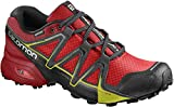 Salomon Speedcross Vario 2 Gtx, Herren Traillaufschuhe, Rot (Fiery Red/Barbados Cherry/Magnet), 46 EU